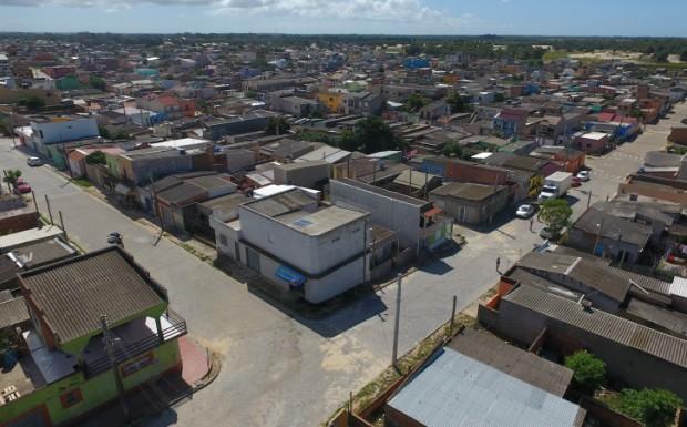 Foto de capa da notícia: Rua José Ribeiro do Amaral recebe pavimentação
