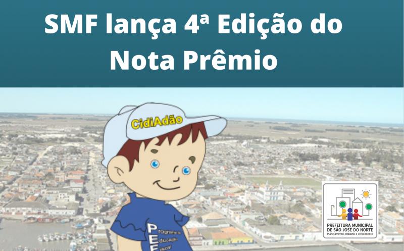 Foto de capa da notícia SMF lança 4ª Edição do Nota Prêmio