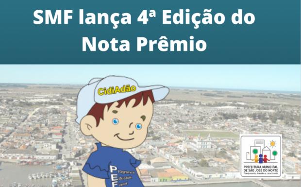 Foto de capa da notícia: SMF lança 4ª Edição do Nota Prêmio