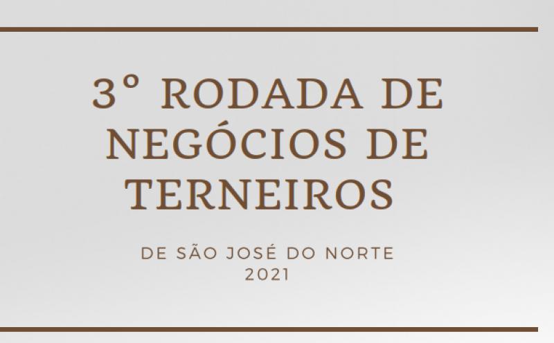 Foto de capa da notícia Pecuaristas de São José do Norte realizaram 3ª Rodada de Negócios de Terneiros