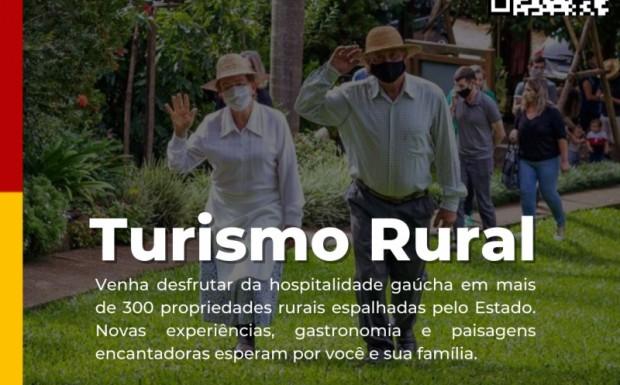 Foto de capa da notícia: Você sabia que temos um site cheio de atrativos de Turismo Rural do nosso Rio Grande do Sul, projeto da Câmara Temática de Turismo Rural do RS?