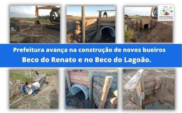 Foto de capa da notícia: Prefeitura avança na construção de novos bueiros