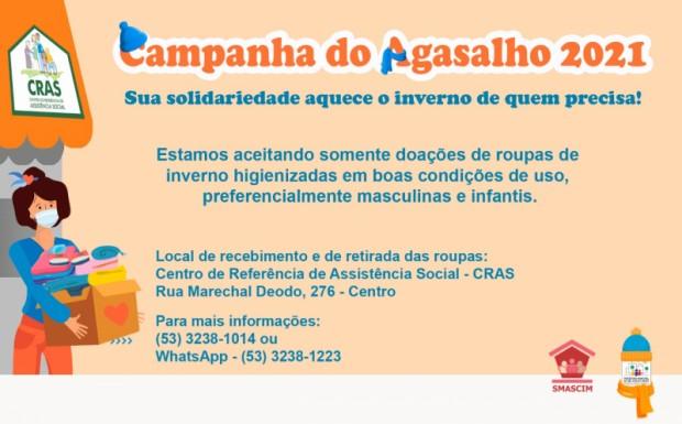 Foto de capa da notícia: Smascim dá início a Campanha do Agasalho 2021