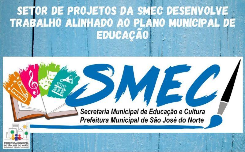 Foto da Notícia Setor de Projetos da SMEC desenvolve trabalho alinhado ao Plano Municipal de Educação