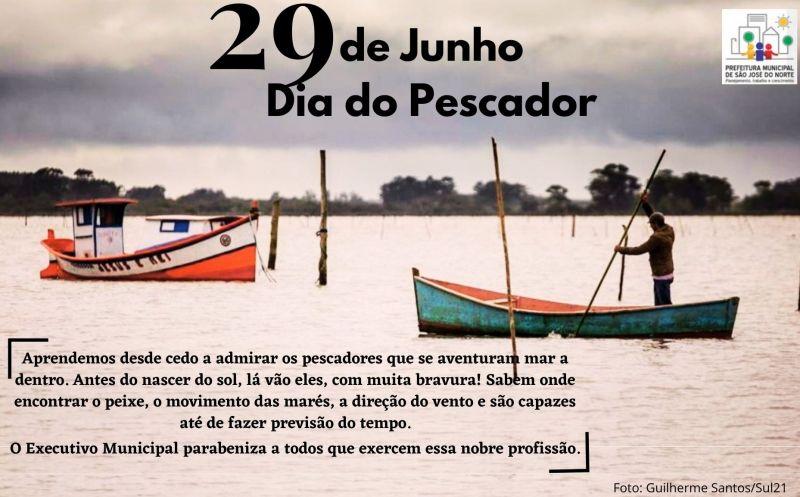 Foto de capa da notícia Dia dos Pescadores(as) - todo nosso reconhecimento aos homens e mulheres do mar.
