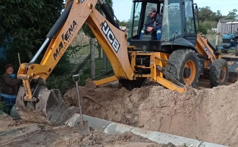 Foto de capa da notícia Construção de um novo bueiro no Beco do Canastreiro