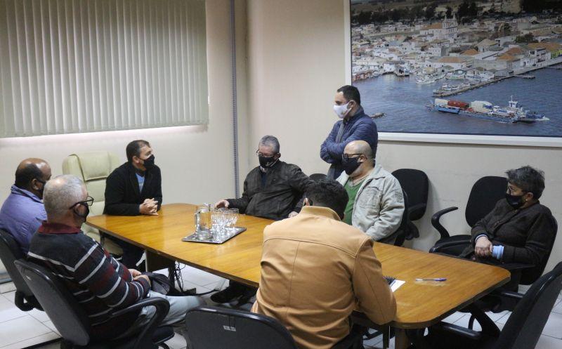 Foto de capa da notícia Executivo Municipal recebe visita do Presidente do IPE Saúde