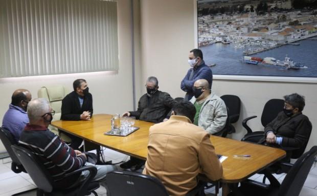 Foto de capa da notícia: Executivo Municipal recebe visita do Presidente do IPE Saúde
