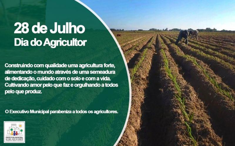 Foto de capa da notícia Dia do Agricultor 28 de julho