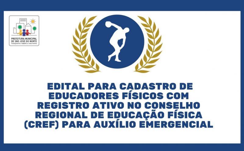 Foto de capa da notícia SMTEL publica edital para cadastro de educadores físicos para auxílio emergencial