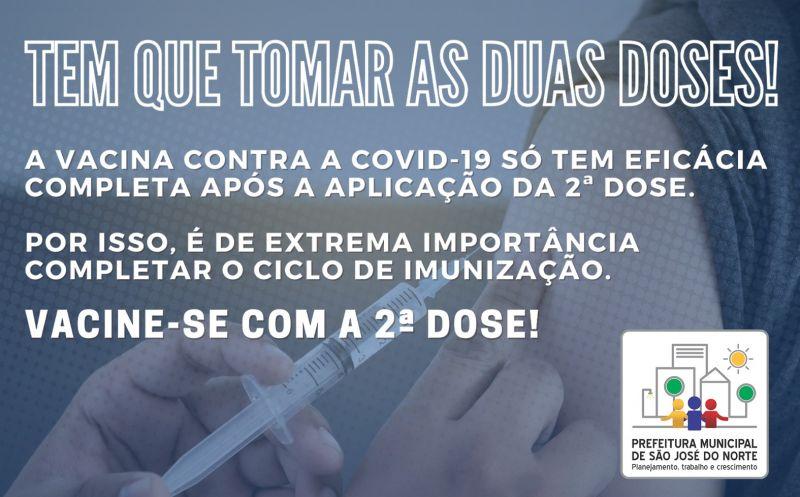 Foto de capa da notícia: SMS alerta para a importância da 2ª dose da vacina contra a Covid-19