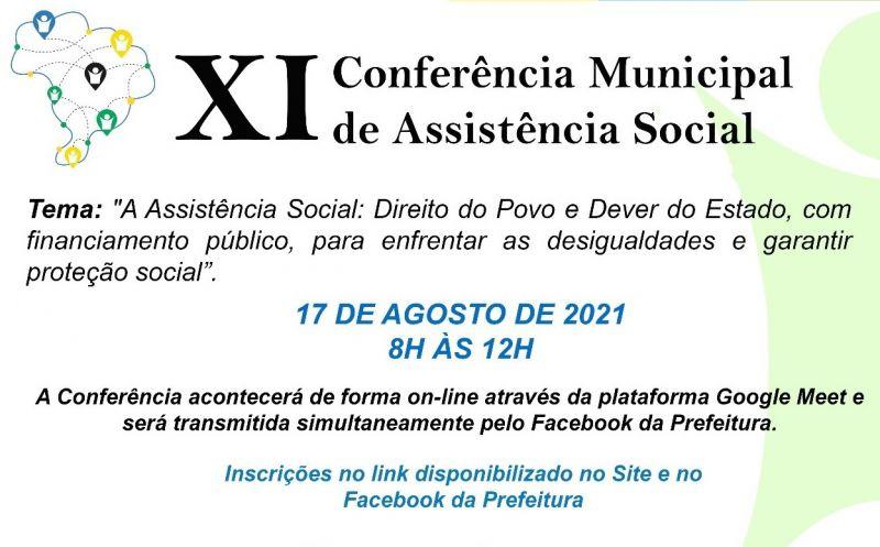 Foto de capa da notícia Confira os eixos da XI Conferência Municipal de Assistência Social de São José do Norte