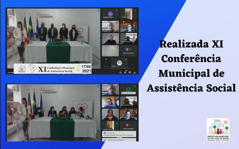 Foto de capa da notícia Realizada XI Conferência Municipal de Assistência Social