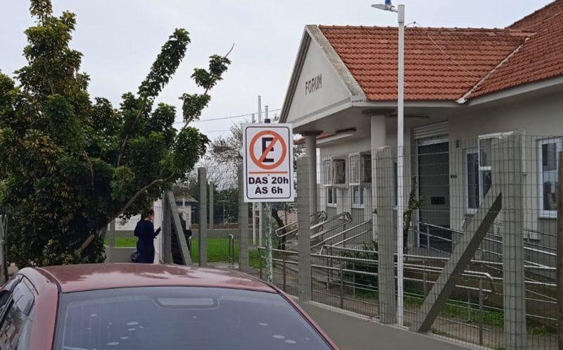 Foto de capa da notícia SMTT alerta sobre mudança de sinalização na Rua General Osório, entre as ruas Saturnino de Souza Velho e Ramiro Barcelos
