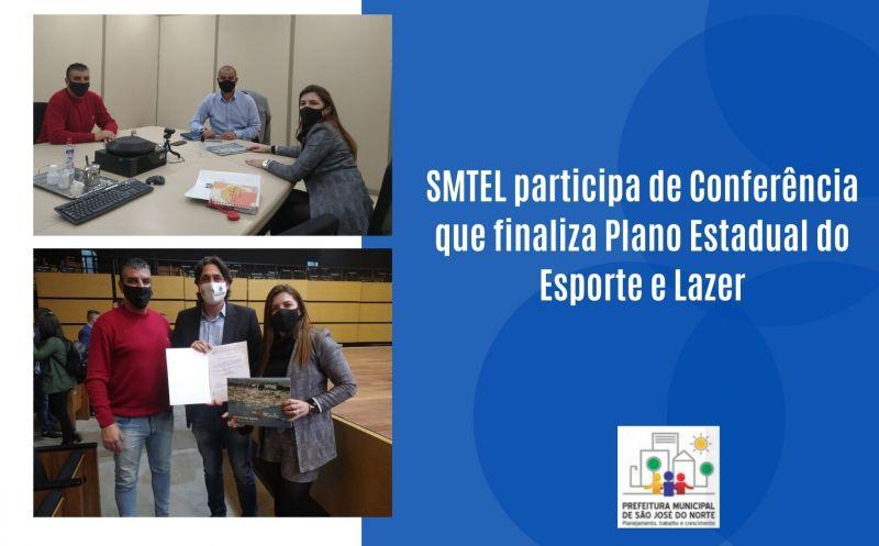 Foto de capa da notícia SMTEL participa de Conferência que finaliza Plano Estadual do Esporte e Lazer