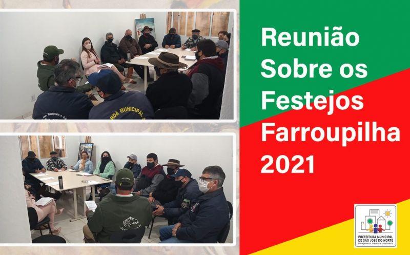 Foto de capa da notícia Reunião sobre os festejos Farroupilha