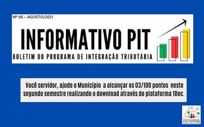 Foto de capa da notícia Realize o download do boletim informativo e ajude o Município a garantir pontos no PIT