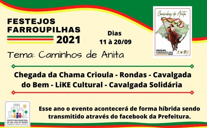 Foto de capa da notícia Abertura dos Festejos Farroupilhas em São José do Norte