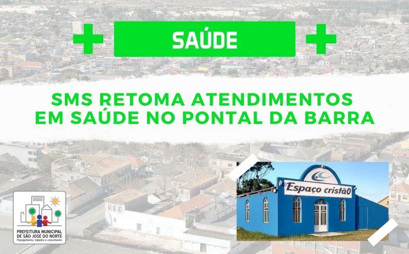 Foto de capa da notícia SMS retoma atendimentos em saúde no Pontal da Barra