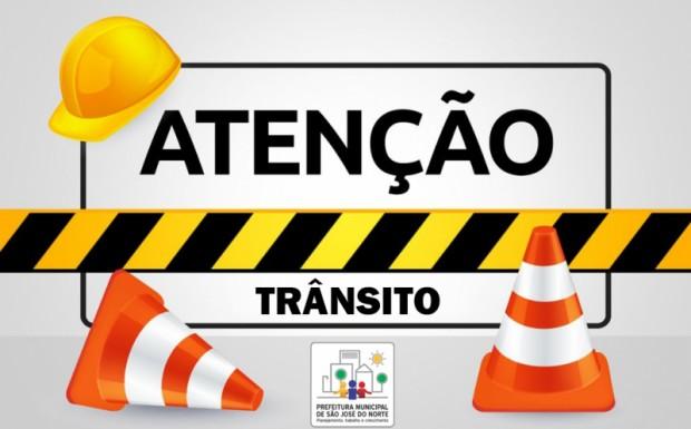 Foto de capa da notícia: Rua Evilásio Setembrino Gautério estará bloqueada para trânsito de veículos de grande porte na quarta (15) e na quinta (16)