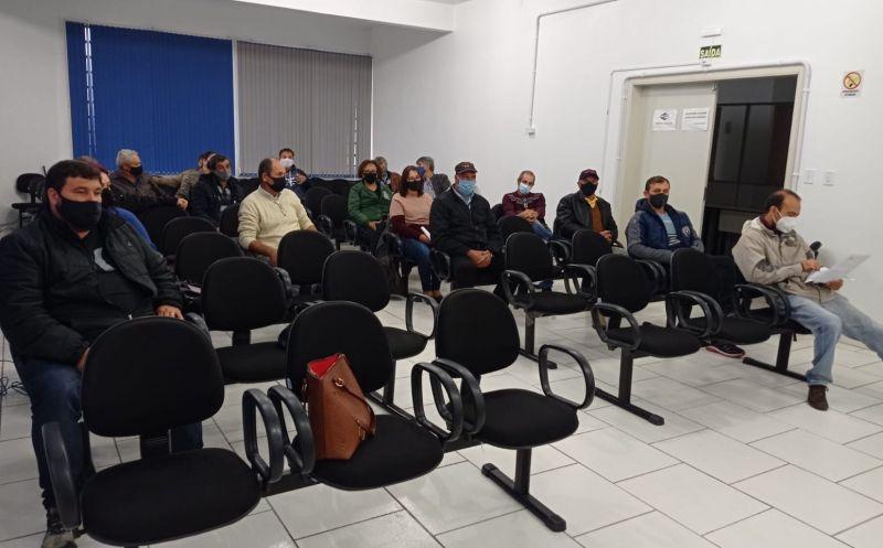 Foto de capa da notícia Retorno das reuniões presenciais do Conselho Municipal do Produção