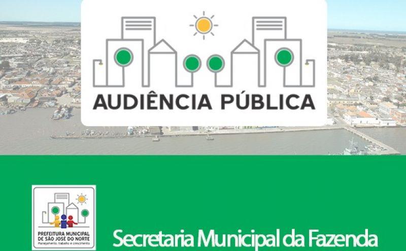 Foto de capa da notícia Audiência Pública on-line trata do relatório de Avaliação das metas fiscais da SMF