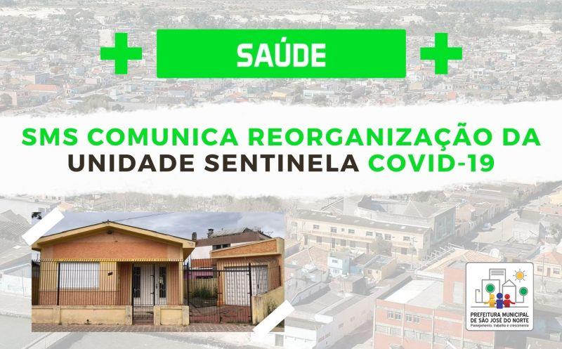 Foto de capa da notícia SMS comunica reorganização da Unidade Sentinela Covid-19