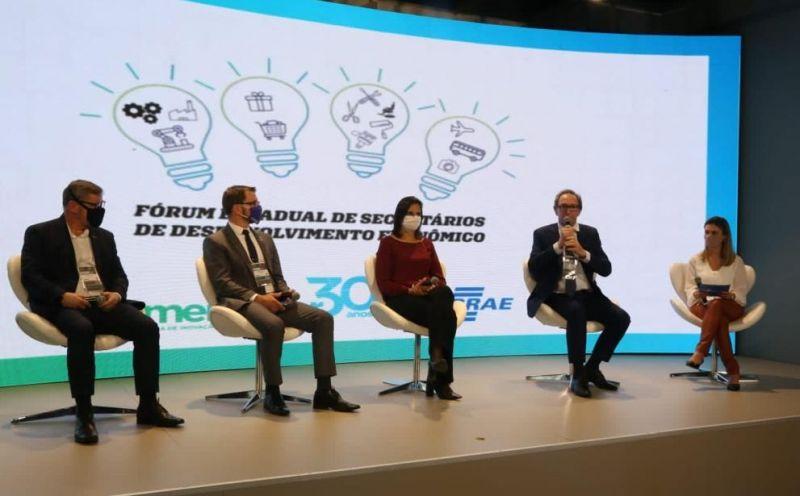 Foto de capa da notícia Projeto Educação Empreendedora em parceria com o Sebrae, no Município, é motivo de destaque na Mercopar – Feira de Inovação Industrial