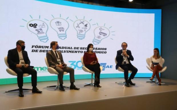 Foto de capa da notícia: Projeto Educação Empreendedora em parceria com o Sebrae, no Município, é motivo de destaque na Mercopar – Feira de Inovação Industrial