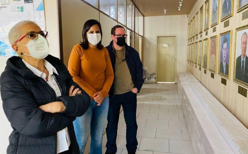 Foto de capa da notícia Município recebeu a visita da Secretária de Estado da Cultura, Beatriz Araujo