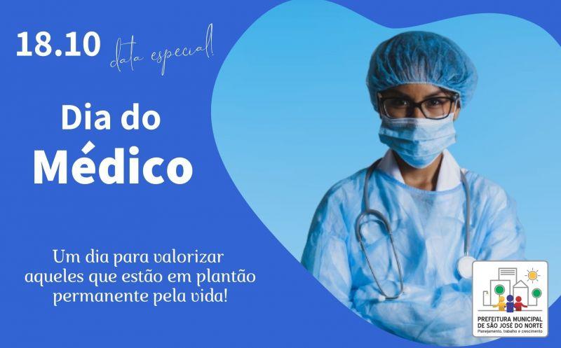 Foto de capa da notícia 18 de Outubro - Dia do Médico