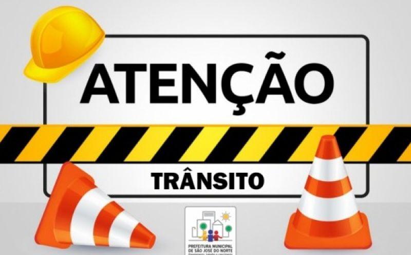 Foto de capa da notícia Algumas ruas do centro estarão bloqueadas para trânsito de veículos a partir de hoje, quinta-feira (21)