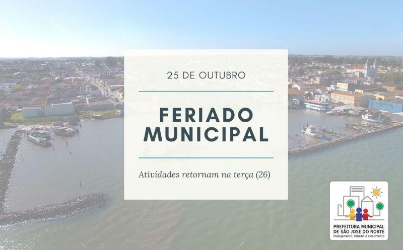 Foto de capa da notícia: São José do Norte completará 190 anos e segunda-feira (25/10) é feriado municipal