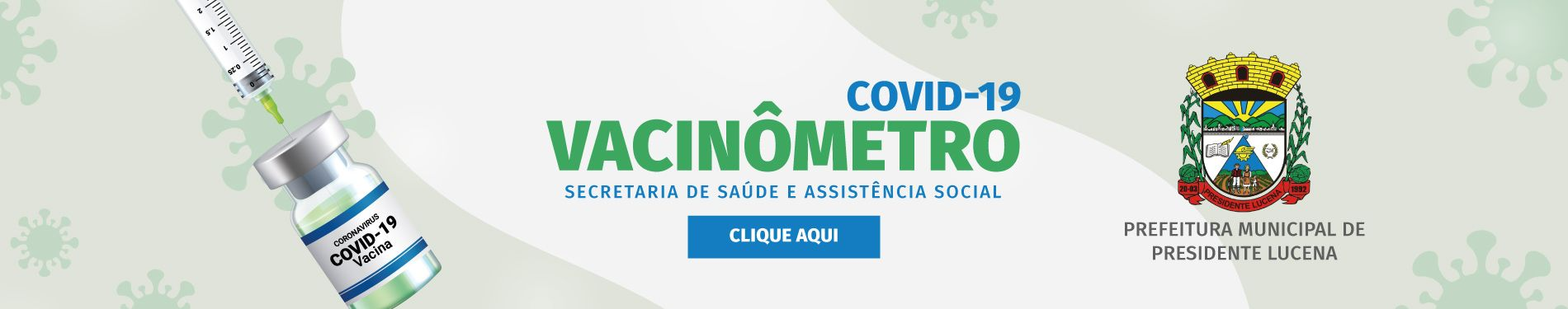 Banner 1 - Vacinômetro
