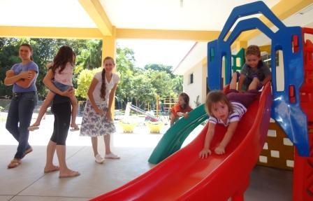 Foto de capa da notícia Criançada da Escola Ursinho Carinhoso voltou as aulas nesta segunda