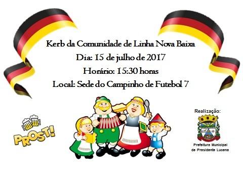 Foto de capa da notícia Kerb da Comunidade de Linha Nova Baixa