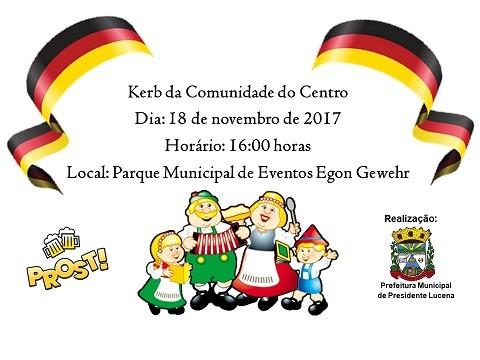 Foto de capa da notícia KERB DA COMUNIDADE DO CENTRO