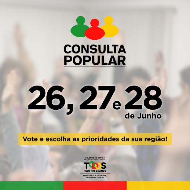 Foto de capa da notícia CONSULTA POPULAR 2018