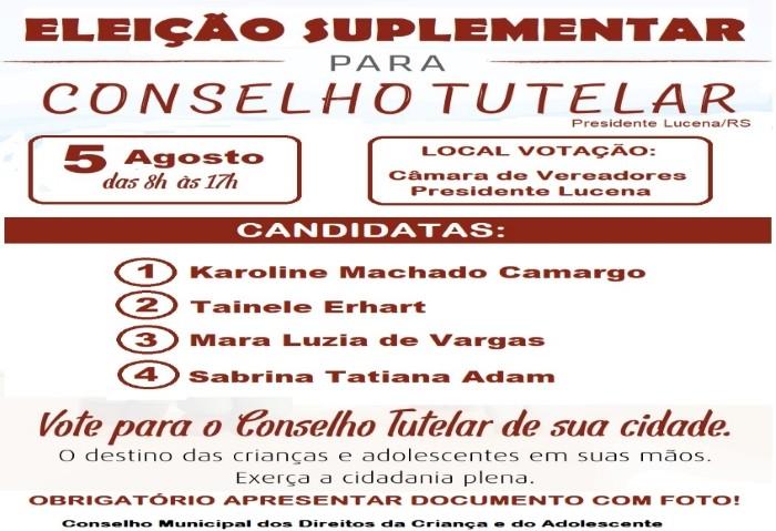 Foto de capa da notícia ELEIÇÕES SUPLEMENTARES DO CONSELHO TUTELAR