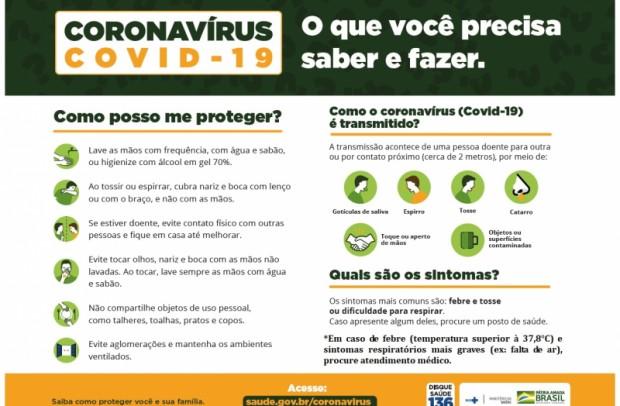 Foto de capa da notícia: Coronavírus