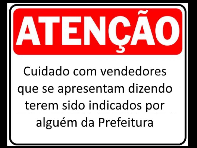 Foto de capa da notícia Prefeitura não faz indicação de vendedores