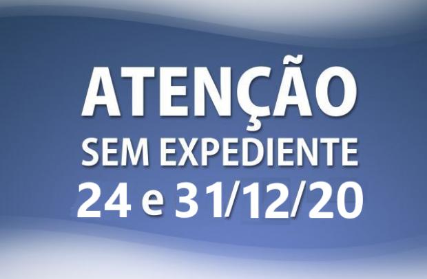 Foto de capa da notícia: ATENDIMENTO DOS ÓRGÃOS PÚBLICOS NA VÉSPERA DO NATAL E ANO NOVO