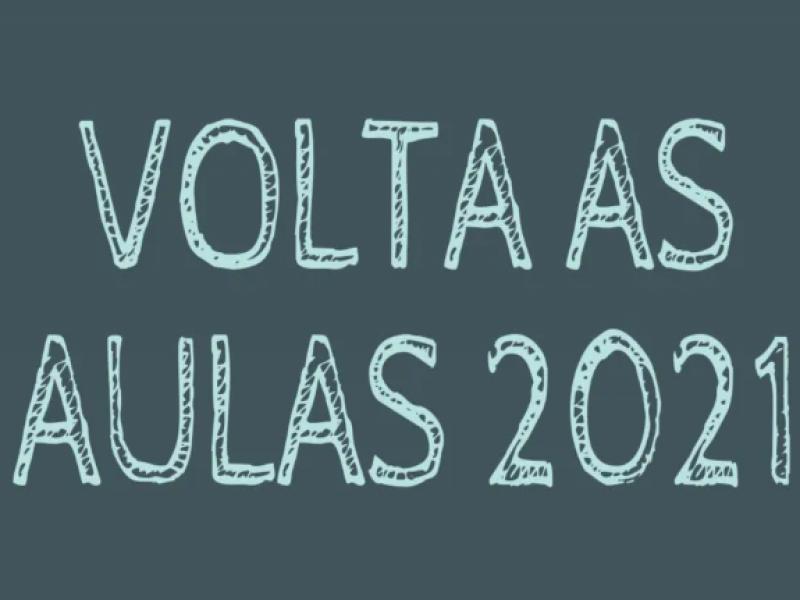 Foto da Notícia VOLTA ÀS AULAS PRESENCIAIS