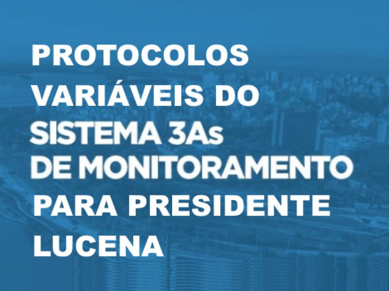 Foto da Notícia PROTOCOLOS VARIÁVEIS