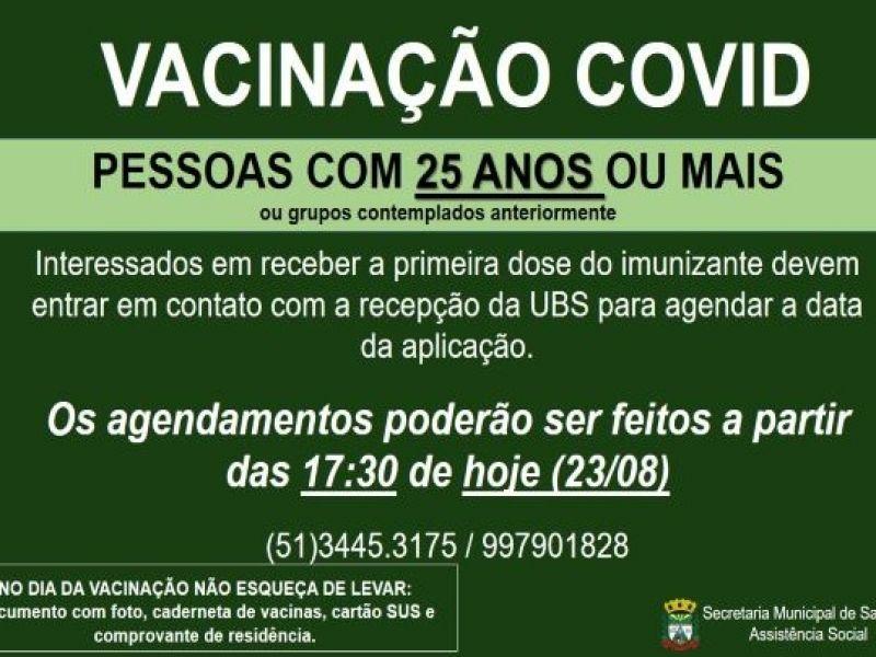 Foto de capa da notícia NOVAS DOSES DA VACINA CONTRA A COVID DISPONÍVEIS