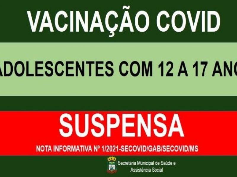 Foto de capa da notícia VACINAÇÃO COVID PARA ADOLESCENTES