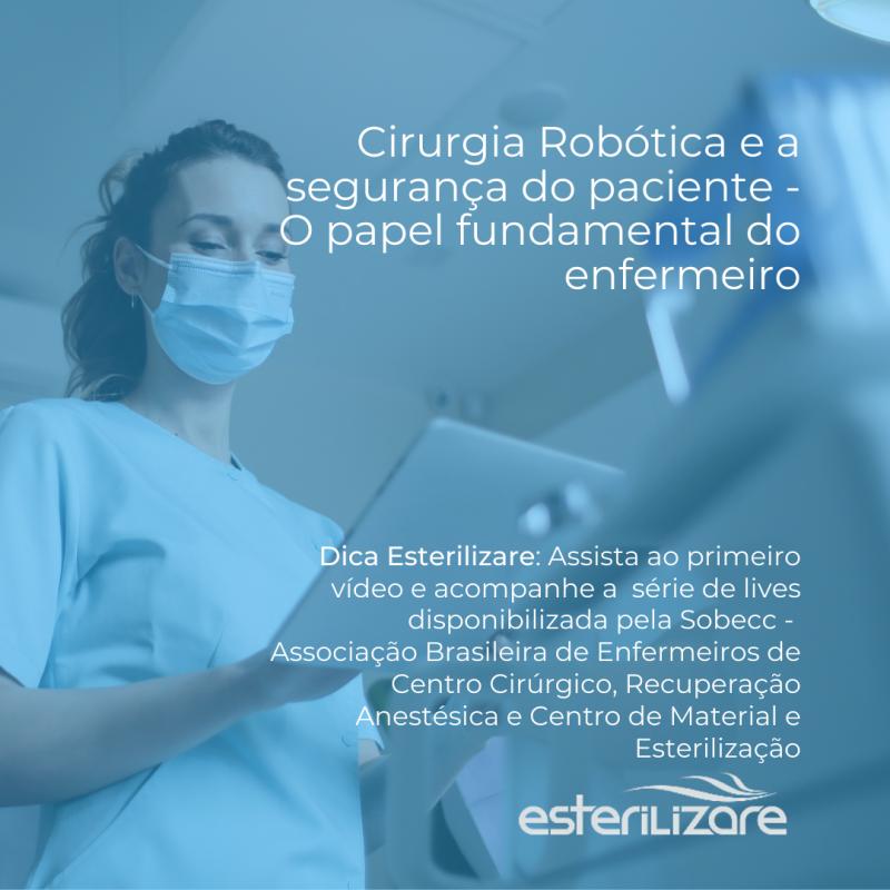 Foto Cirurgia Robótica e a Segurança do Paciente