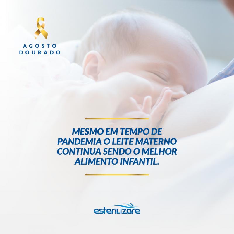 Foto de capa: Dica de Saúde - aleitamento materno durante a pandemia
