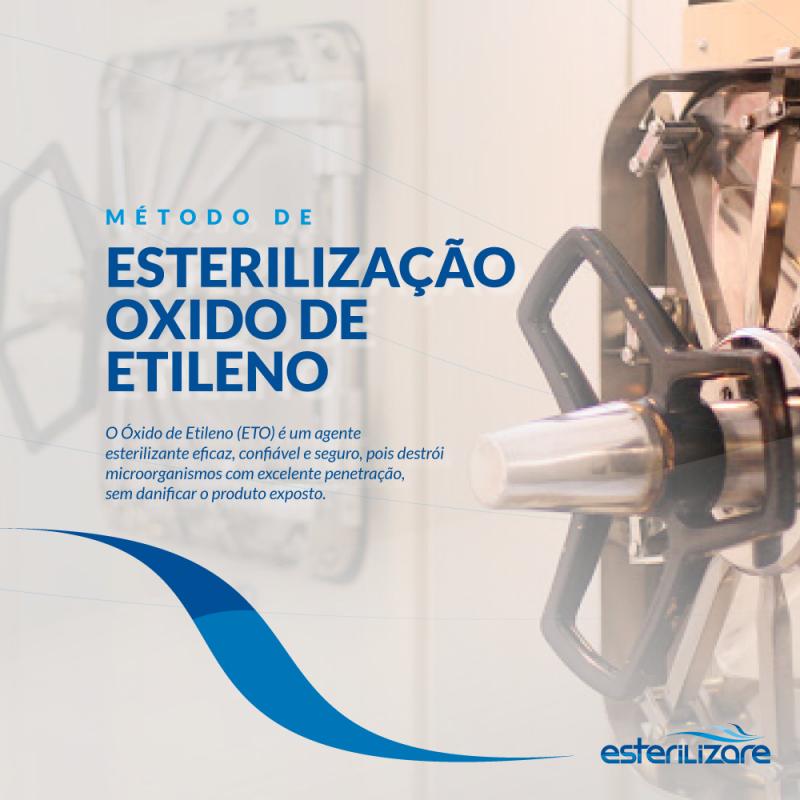 Foto de capa: Saiba mais sobre a  A esterilização por óxido de etileno