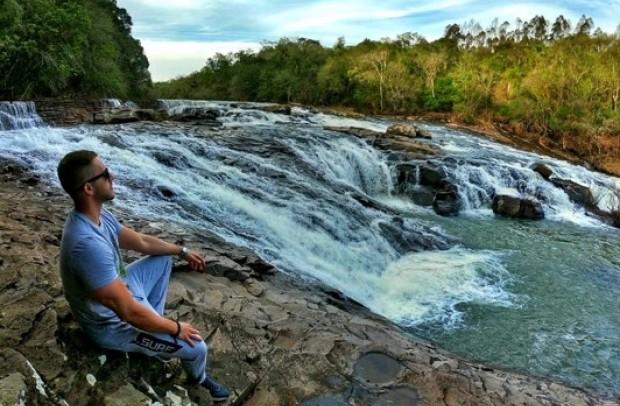 Represa do Rio Cadeia, em Capela do Rosário. Foto: Cristiano Pinheiro.
